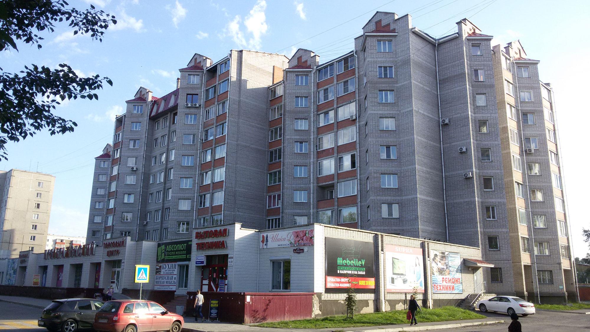Жилой дом по ул. Др. Народов в г. Абакане. Арх. Семизоров М.В.