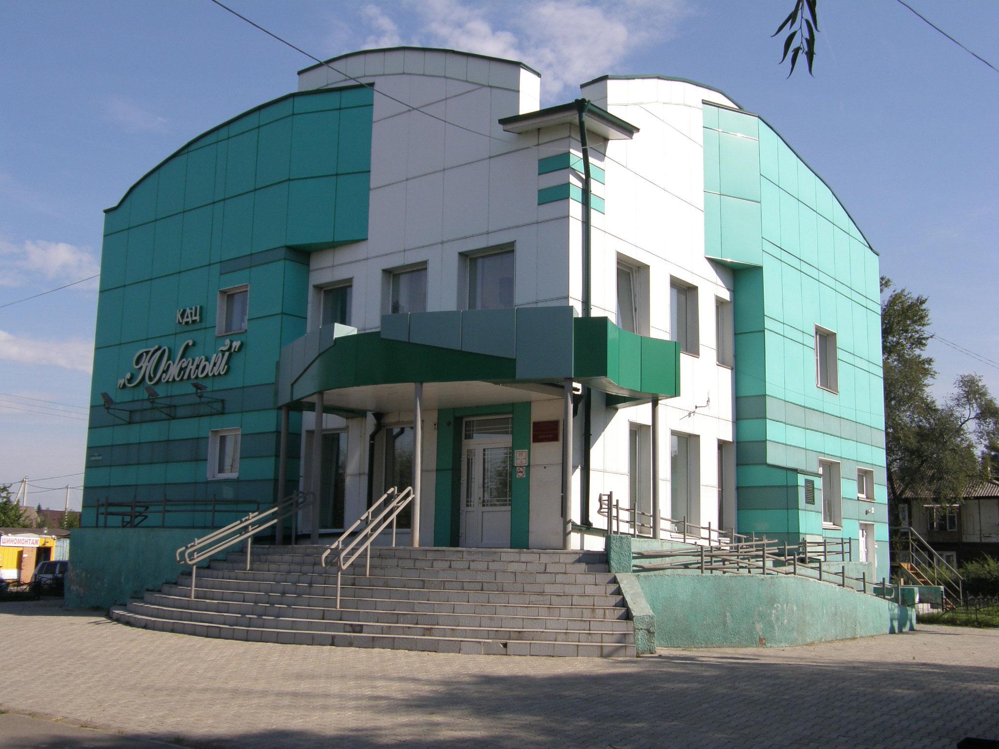 Культурно-досуговый центр по ул. Аскизской в г. Абакане. Арх. Бредюк А.В.